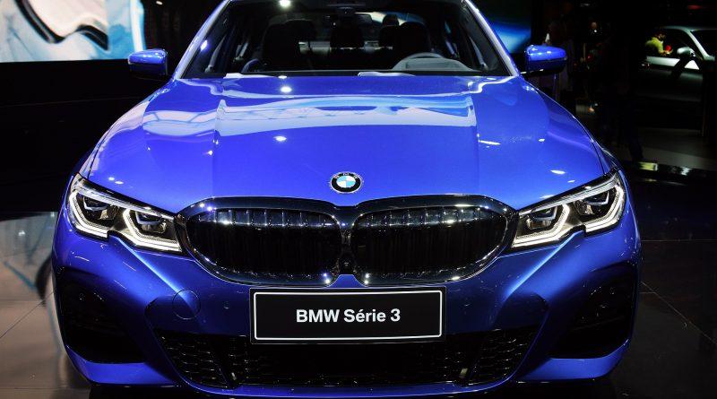 BMW blauw