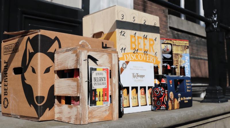 Verschillende bierpakketten